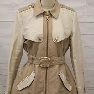 NWOT Juicy Couture Short Twill Trench Jacket/Coat